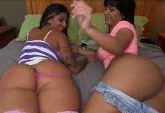 Rose Monroe e Spicy J duas Rabudas Latinas PORN HD