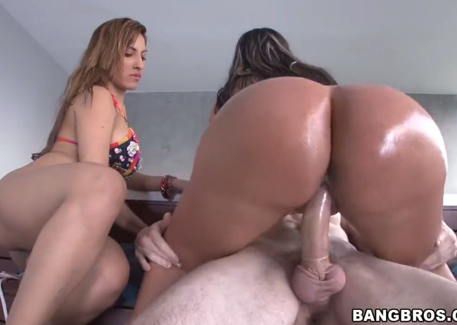 Sexo com duas rabudas colombianas COLOMBIAN TUBE