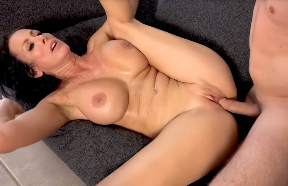 Stepmom Reagan Foxx Steals Stepsons Cock