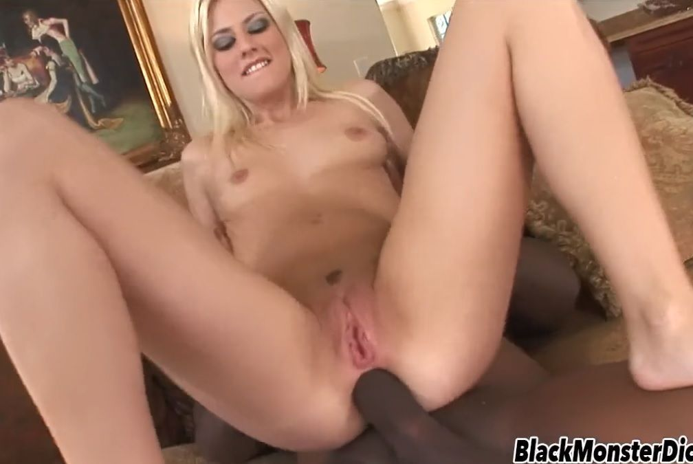 Jessie Volt loira com BBC sexo anal PORN HD